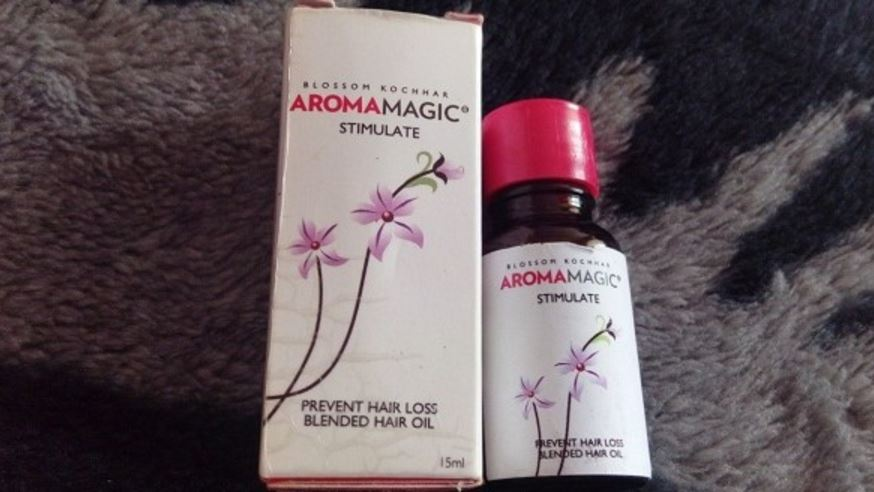 Aroma Magic Stimulate Blended Hair Oil Top 10 Best Selling Oils for Hair Growth 2017