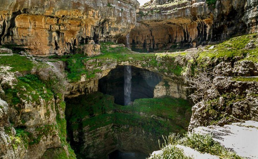 Baatara Gorge Waterfall In Lebanon Top Ten Most