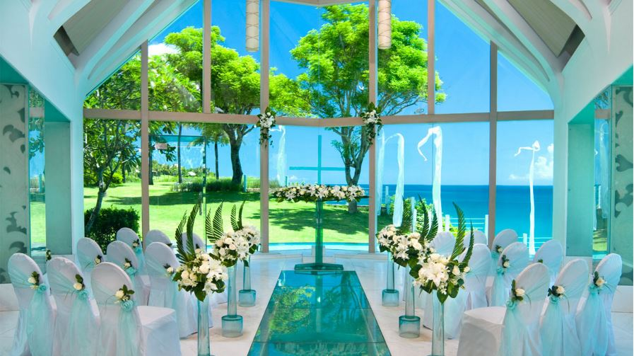 Most beautiful places to get married in the world 2017 for Places to have receptions for weddings