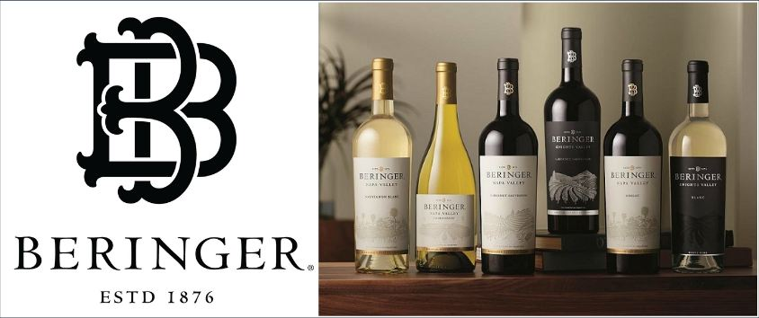 beringer, Top 10 Best Selling Wine Brands In The World 2017