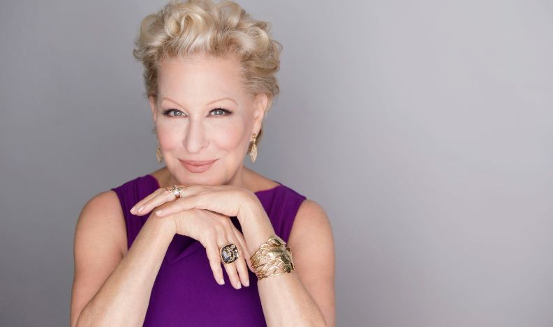 bette midler, Top 10 Ageless Celebrity Beauties Over 55 in The World 2017
