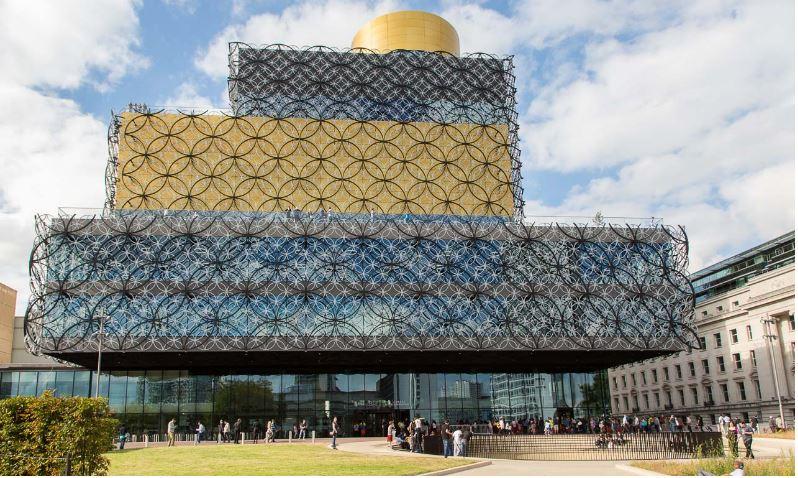 Birmingham Library Top Most Beautiful Libraries in The World 2017