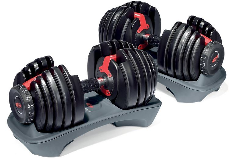 Bowflex SelectTech 552 Adjustable Dumbbells, Top 10 Best Selling Exercise Equipments 2017