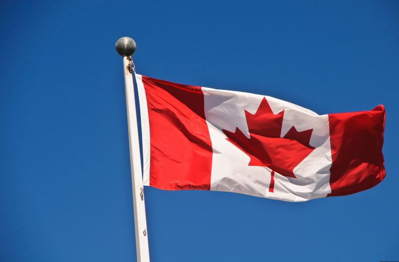 CANADA - Most Beautiful Flag