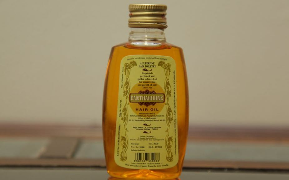Cantharidine Hair Oil Top Most Famous Selling Oils for Hair Growth 2018