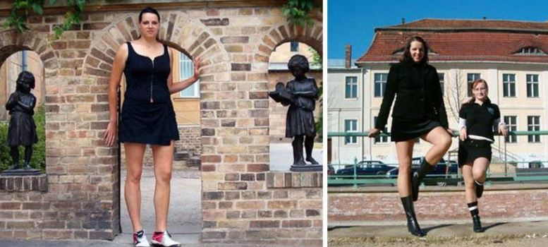 Top 10 Tallest Women in The World 2018  Worlds Top Most