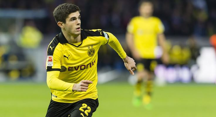 Christian Mate Pulisic Top Most Famous Richest Footballers In USA 2018