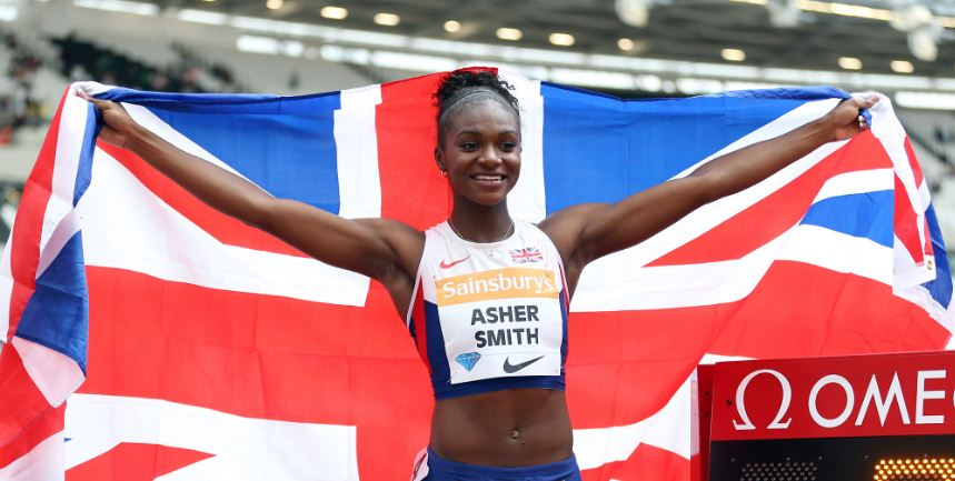 dina-asher-smith-top-famous-youngest-female-sports-champions-in-the-world-2018