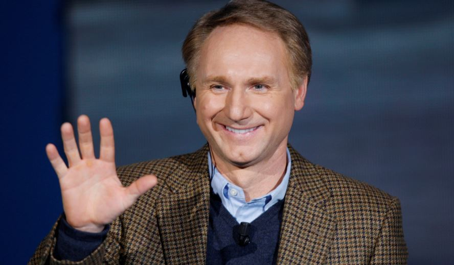 dan brown, Top 10 Most Handsome Writers in The World 2018