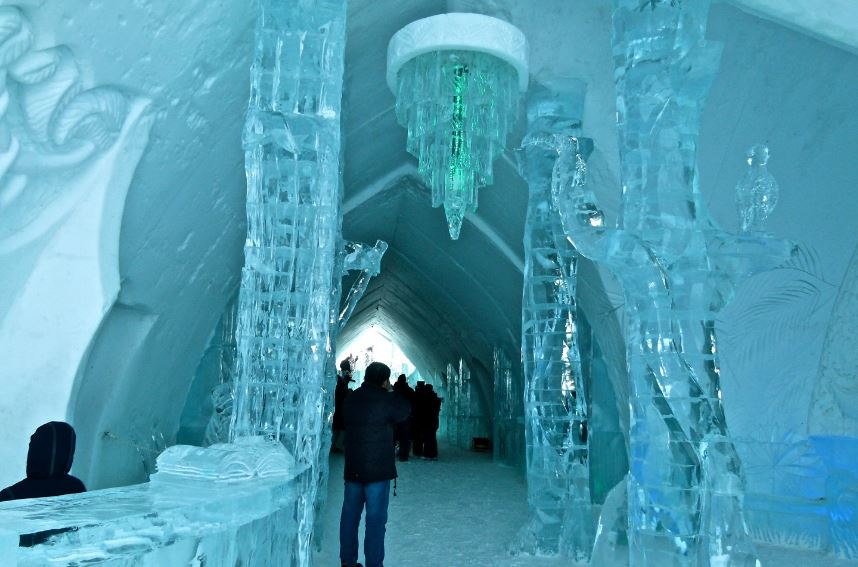 De Glace Ice Hotel Top Most Popular Coolest Hotels In The World 2018