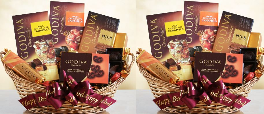 Exquisite Arrangements Godiva Chocolate Gift Basket Top Most Famous Selling Chocolate Gift Baskets 2018