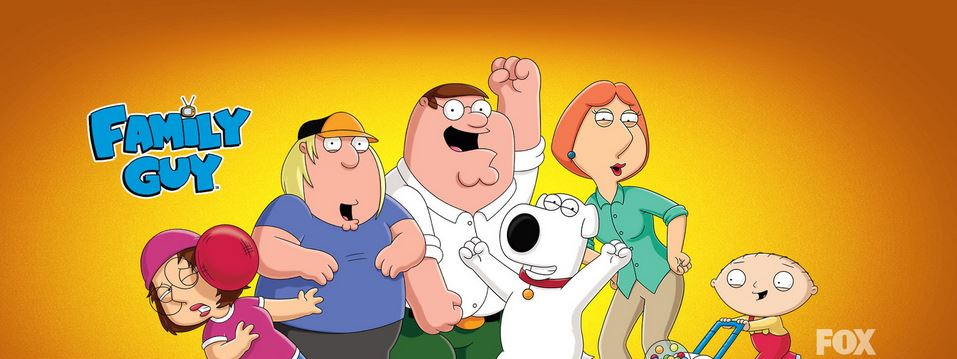 family guy, Top 10 Most Popular Cartoons in The World 2017