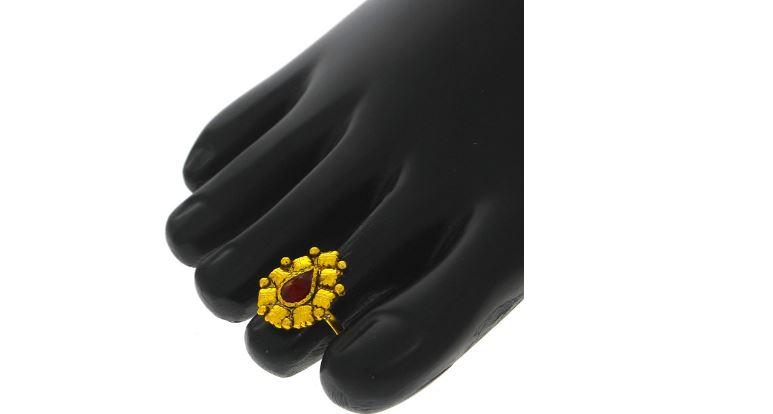 fashion-toe-gold-plated