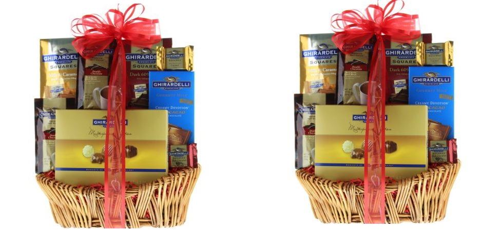 Grand Ghirardelli Chocolate Gift Basket Top Popular Selling Chocolate Gift Baskets 2019