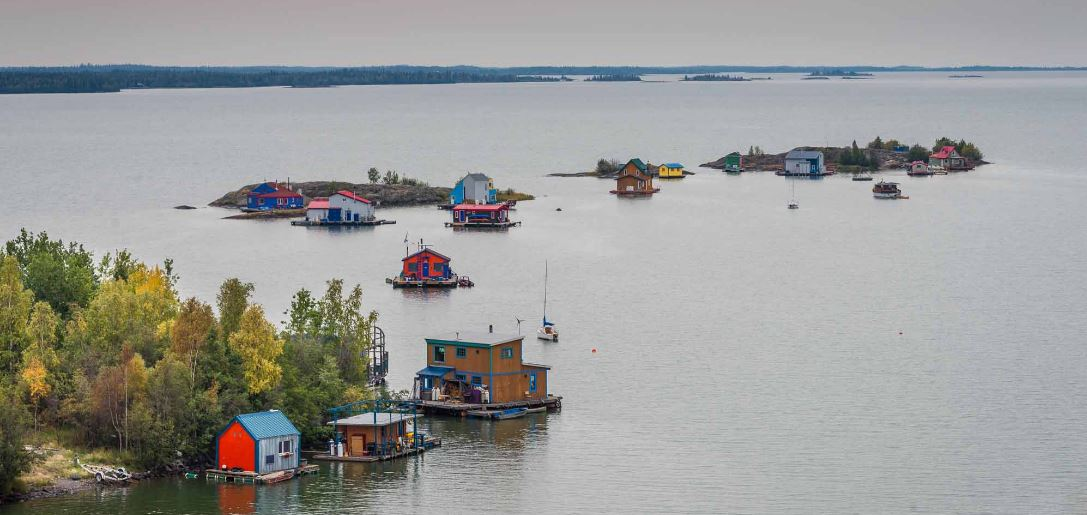 great slave lake, Top 10 Man-Made Biggest Lakes in The World 2018