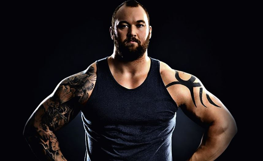 hafthor bjornsson, Top 10 Best Strongmen in The World 2017