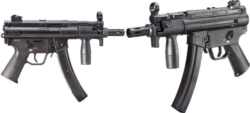 Heckler & Koch MP5K, Top 10 Best Machine Guns in The World 2018