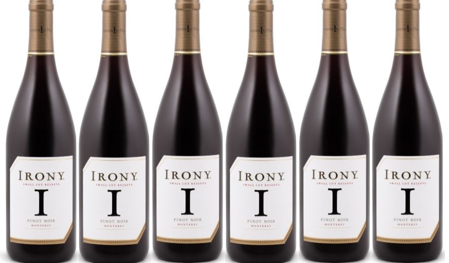 irony-pinot-noir-small-lot-reserve-most-popular-best-selling-red-wine-brands-2018