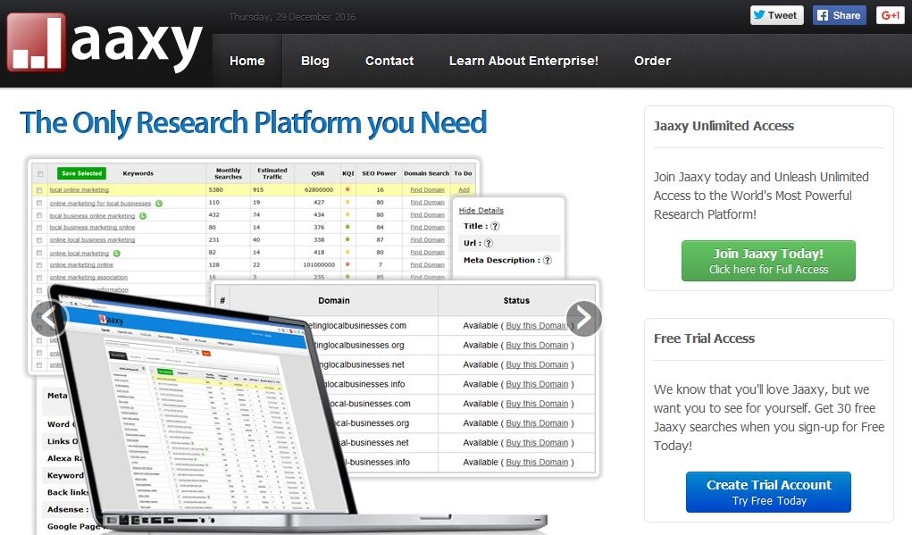jaaxy-top-most-famous-keyword-research-tools-in-2019