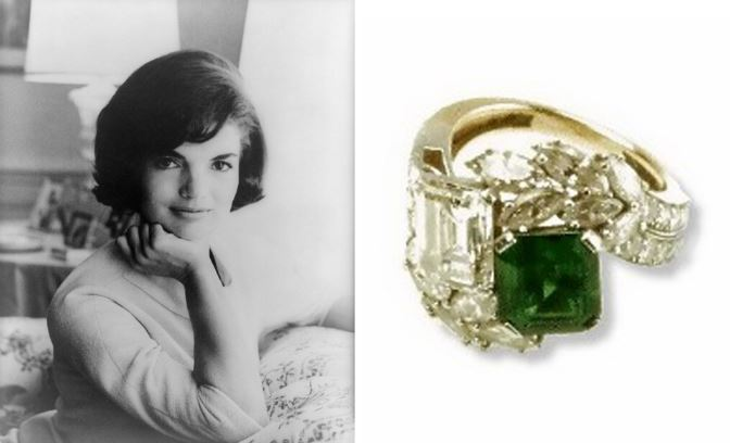 Jacqueline Onassis engagement ring Top Popular Expensive Engagement Rings 2019