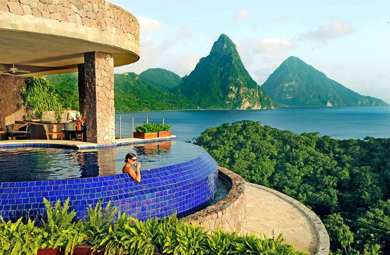 Jade Mountain Resort Top 10 Coolest Hotels In The World