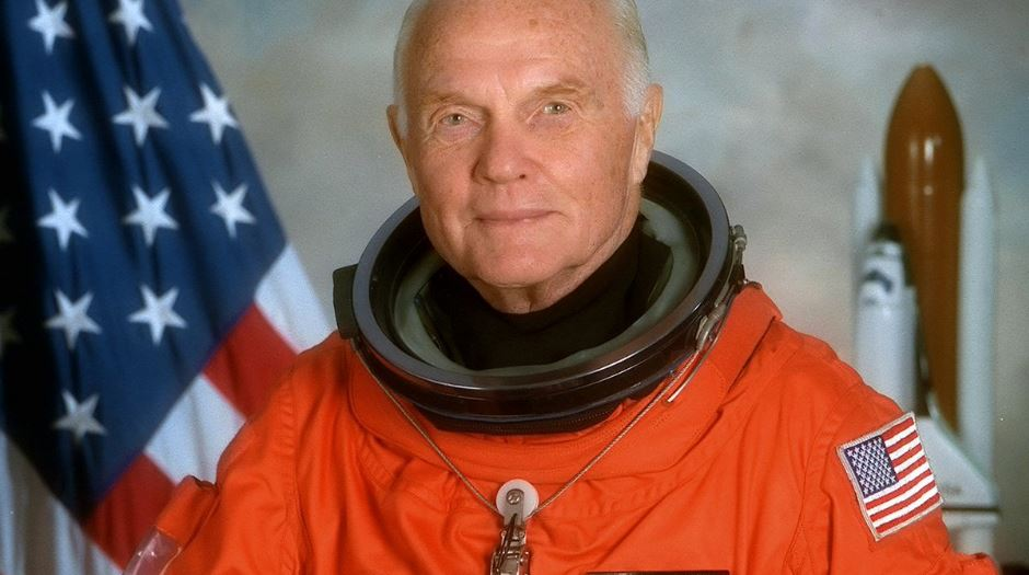 john glenn, Top 10 Most Experienced US Astronauts Ever until 2017