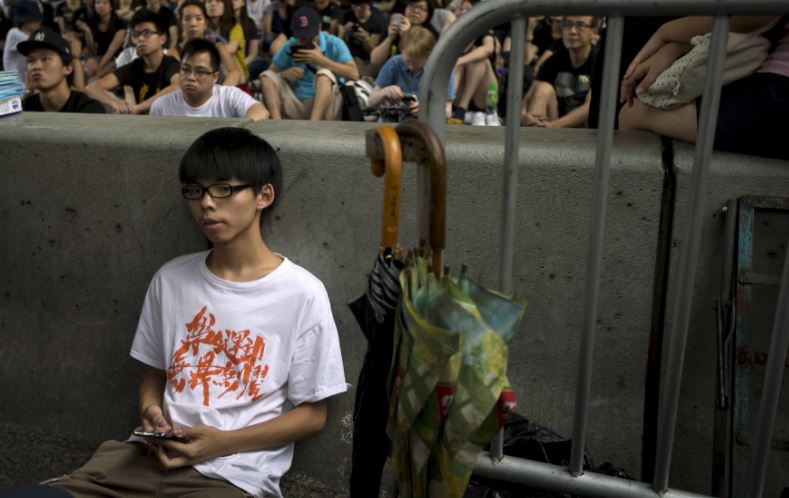 Joshua Wong,19 Top Most Famous Influential Teens 2018