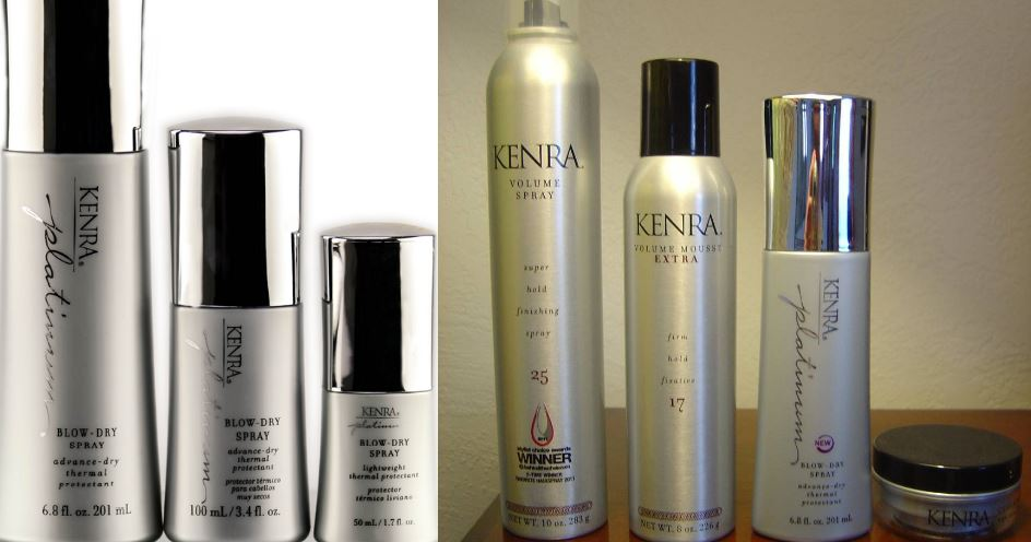 kenra-platinum-blow-dry-spray-best-sprays-for-fine-hairs-2019