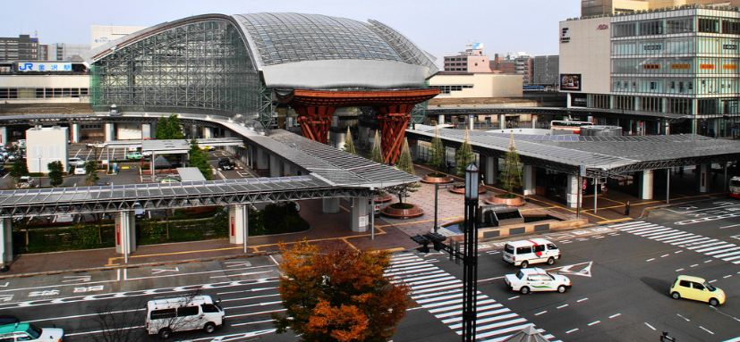 Kanazawa Station, Kanazawa, Top 10 Most Amazing Railway Stations in The World 2019