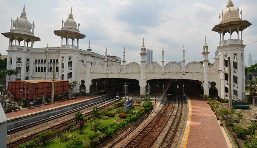 Kuala Lumpur Railway Station, Malaysia, Top 10 Most Amazing Railway Stations in The World 2017