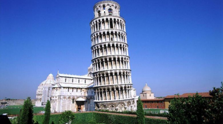 leaning tower of pisa, Top 10 Wonders in The World 2019