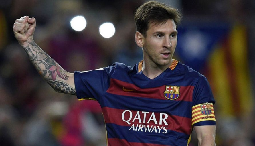 Lionel Messi - richest athletes