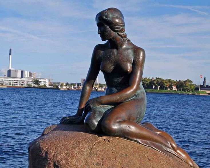 little mermaid, Top 10 Most Famous Statues in The World 2017