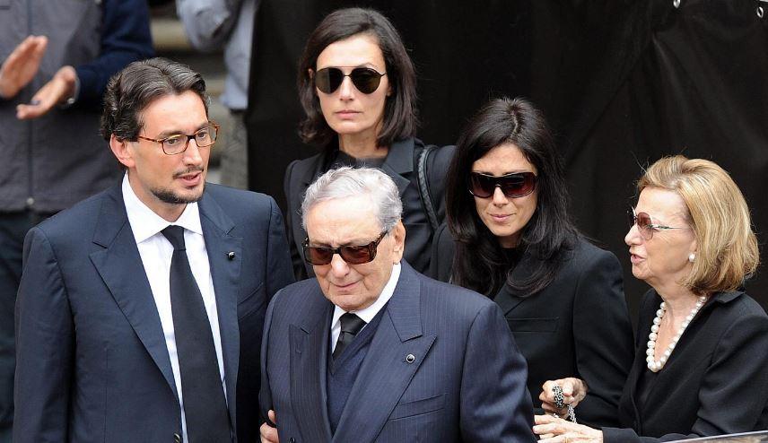 Michele Ferrero and family