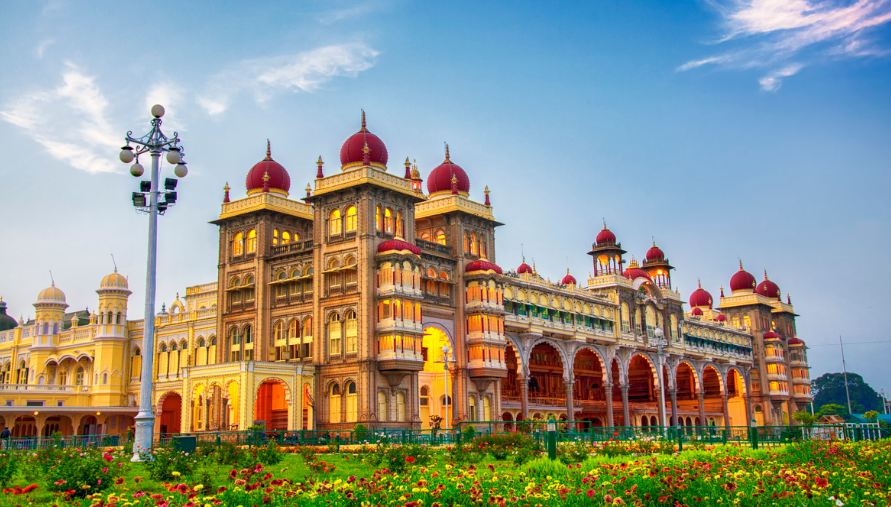 mysore palace, Top 10 Most Beautiful Royal Palaces in The World 2019