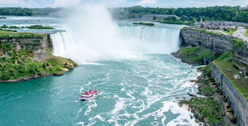 niagara falls, Top 10 Largest Waterfalls in The World 2017
