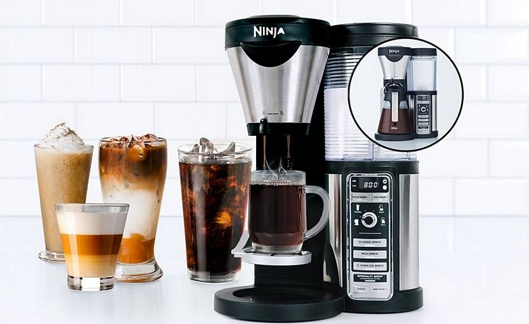 ninja-coffee-bar-brewer-top-famous-instant-coffee-makers-2019