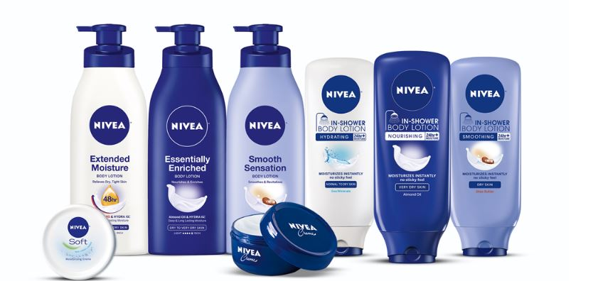 nivea, Top 10 Best Selling Cosmetic Brands in The World 2017