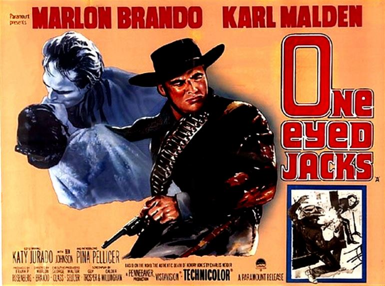 One Eyed Jacks, Marlon Brando Top 10 Movies of All Time
