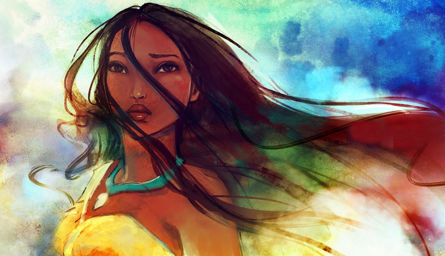 pocahontas-top-famous-beautiful-animated-girls-2018