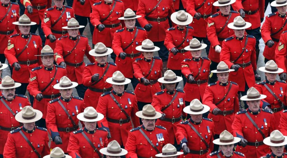 RCMP, Top 10 Most Highly Trained Police Forces in The World 2017
