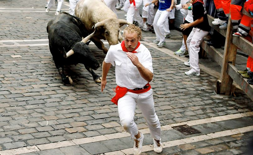Running of the Bulls, Top 10 Best Daytime Tourist Attractions In Spain 2017