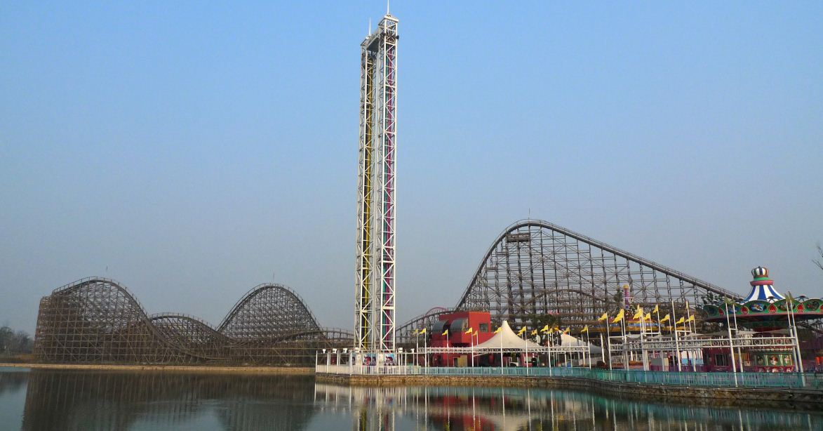 Shanghai Happy Valley Top Most Famous Theme Parks in The World 2019