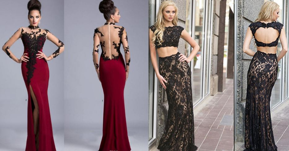 sheer-neck-mermaid-top-most-popular-best-red-prom-dresses-for-women-2018