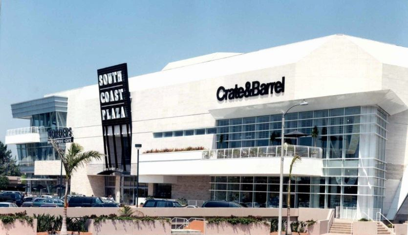 South Coast Plaza Top 10 Biggest Largest Malls in America