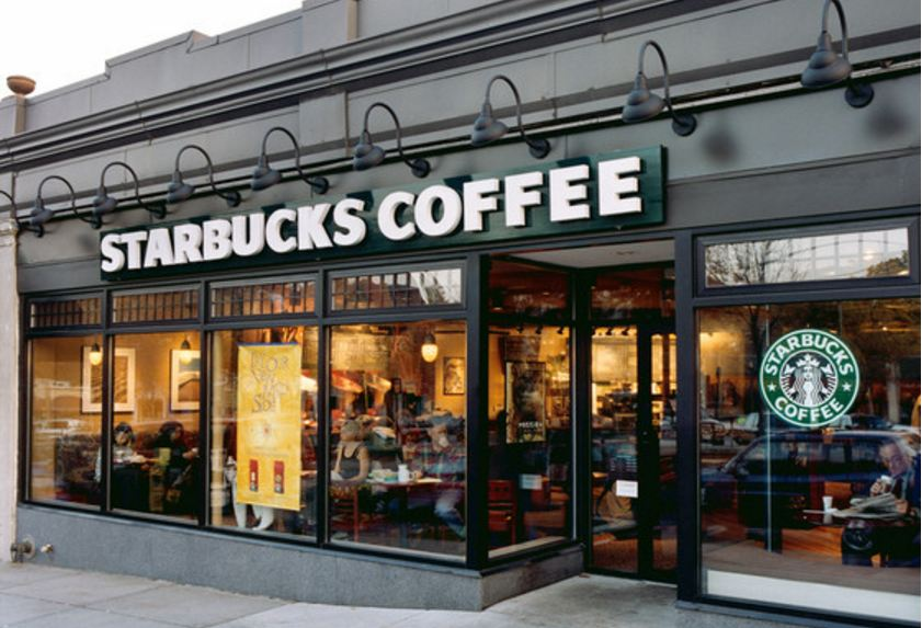 starbucks, Top 10 Most Popular Fast Food Chains In USA 2018