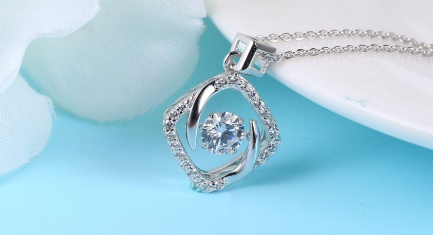 sterling-silver-and-diamond-square-dancing-pendant-necklace