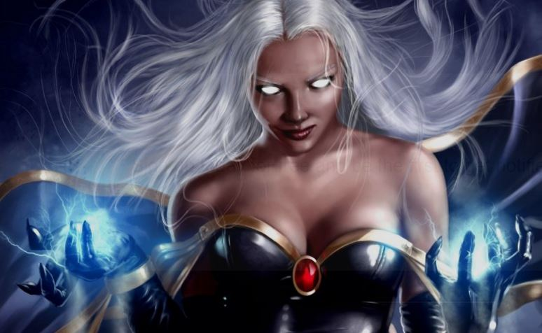 Storm from the X-Men, Top 10 Most Beautiful Animated Girls Ever