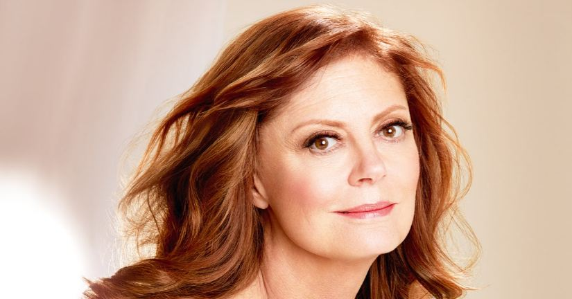 susan sarandon, Top 10 Ageless Celebrity Beauties Over 55 in The World 2017
