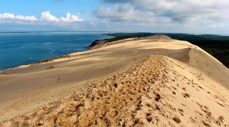 THE DUNE OF PYLA, Top 10 Best & Most Famous Historical Places In France 2017